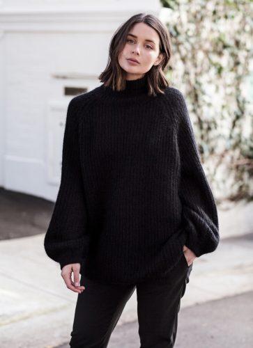 b6589b22d834 Συμβουλές για να σετάρεις το μαύρο σου πουλόβερ