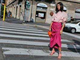 Pink Skirt Outfit Ideas – Πως να φορεσεις μια ροζ φουστα τη φετινη σεζον 1fab2e79dd9